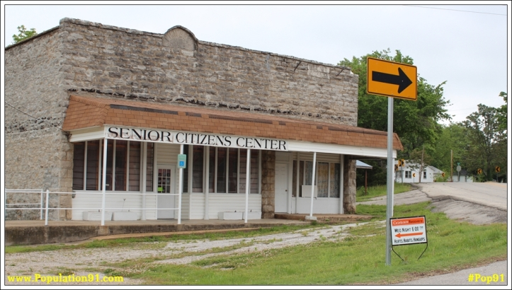 Is this former bank building in Seligman, Missouri the same bank that was robbed at gun point December 20, 1920?