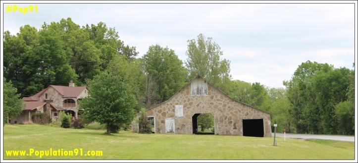 The splendid country home of George Washington Weatherly as soon May 2014.