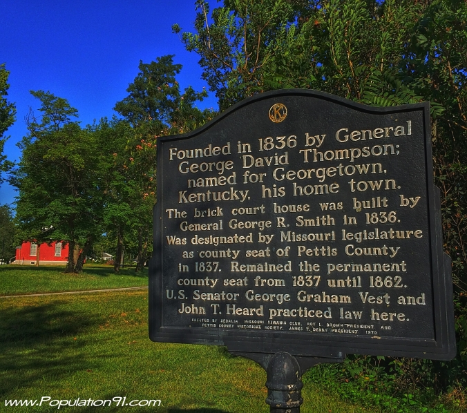 Georgetown, MO Historical Marker