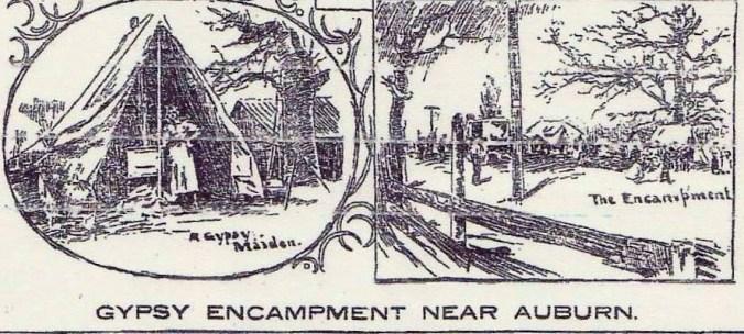 Gypsy Encampment Near Auburn via gypsyjib