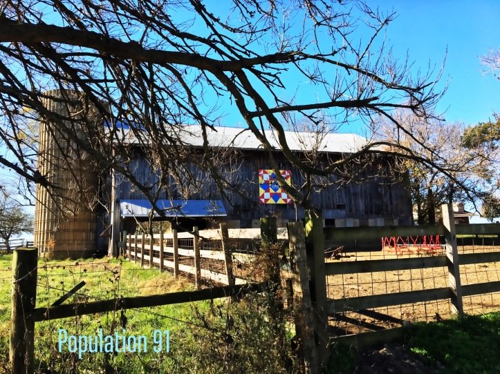 10 Barn with Quilt Madison County Missouri by Population 91.JPG
