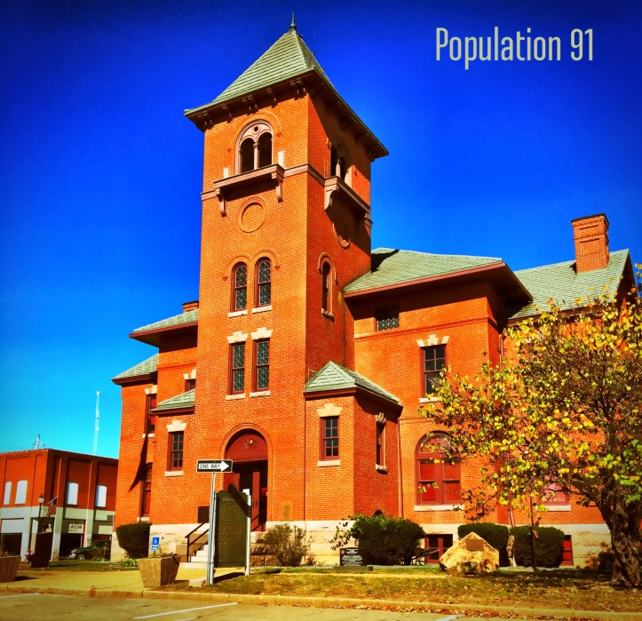 11 Madison County Missouri Courthouse at Fredericktown by Population 91.JPG