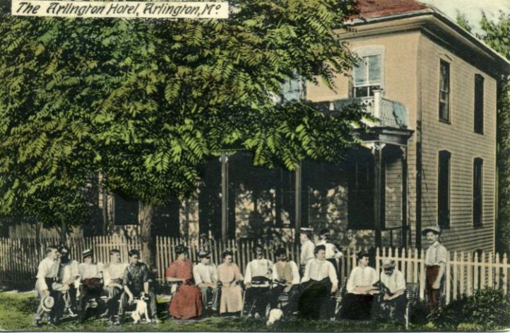 The Arlington Hotel, courtesy of Joe Sonderman/www.66postcards.com
