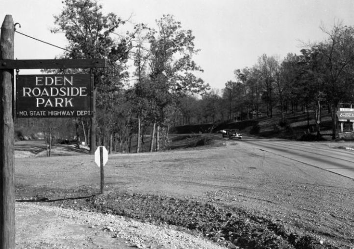 Eden Roadside Park, courtesy of Joe Sonderman/www.66postcards.com