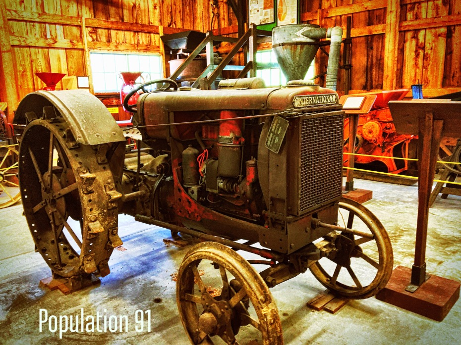 International tractor at Ozark Agriculture Museum. Image by Laura (Abernathy) Huffman for Population 91.