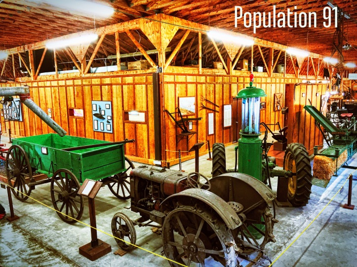 Fred St. Onge's collection is the heart of Ozark Agriculture Museum in Maramec Spring Park. Image by Laura (Abernathy) Huffman for Population 91.