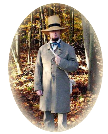 Smith as Thoreau. Courtesy of America's Holy Trinity of Conservation.