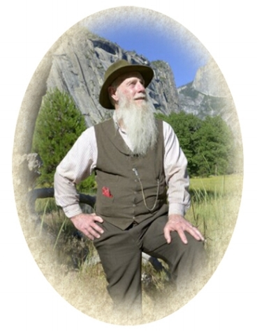 Stetson as Muir. Courtesy of America's Holy Trinity of Conservation.