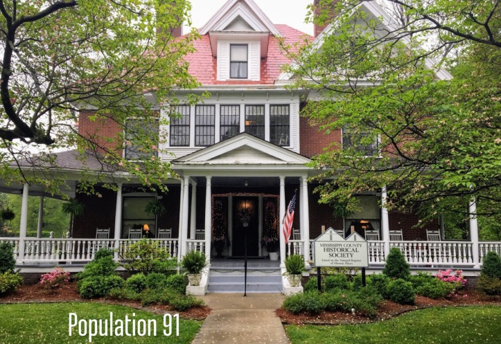 The Moore Home (1899) in Charleston, Missouri houses the Mississippi County Historical Society. Image by Laura (Abernathy) Huffman for Population 91.