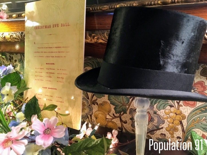 Did this beaver felt hat belong to James Handy Moore's brother, Paul? Image by Laura (Abernathy) Huffman for Population 91