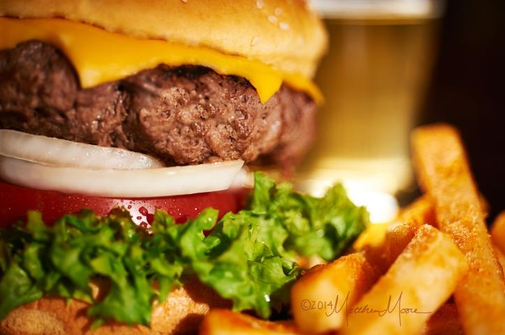 Hamburger by Matthew Moore